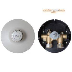 Single room thermostatic valve with sensor